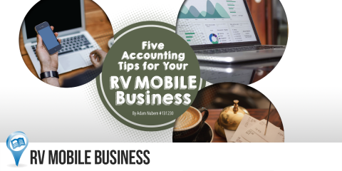 Five Accounting Tips for Your RV Mobile Business 1