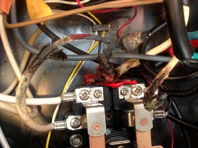 RV Transfer Switch Electrical Fire