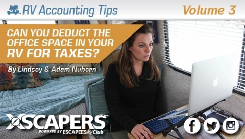 Can You Deduct the Office Space in Your RV on your Taxes? 1
