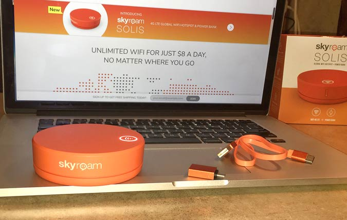 Skyroam Solis Global Wifi