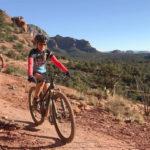 Julie and Reet Sedona Mountain Biking