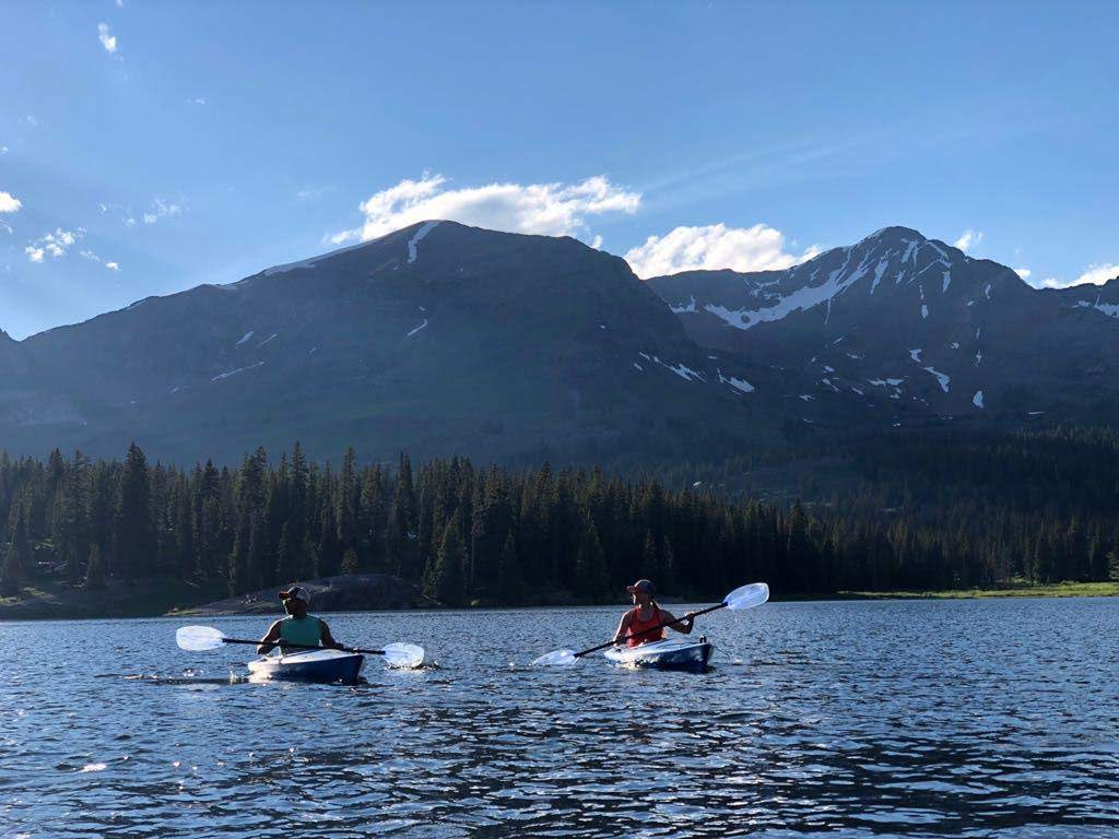 Xscapers RV Club Lake Irwin, Crested Butte, CO